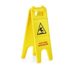 Ploča s upozorenjem: Oprez, klizav pod!