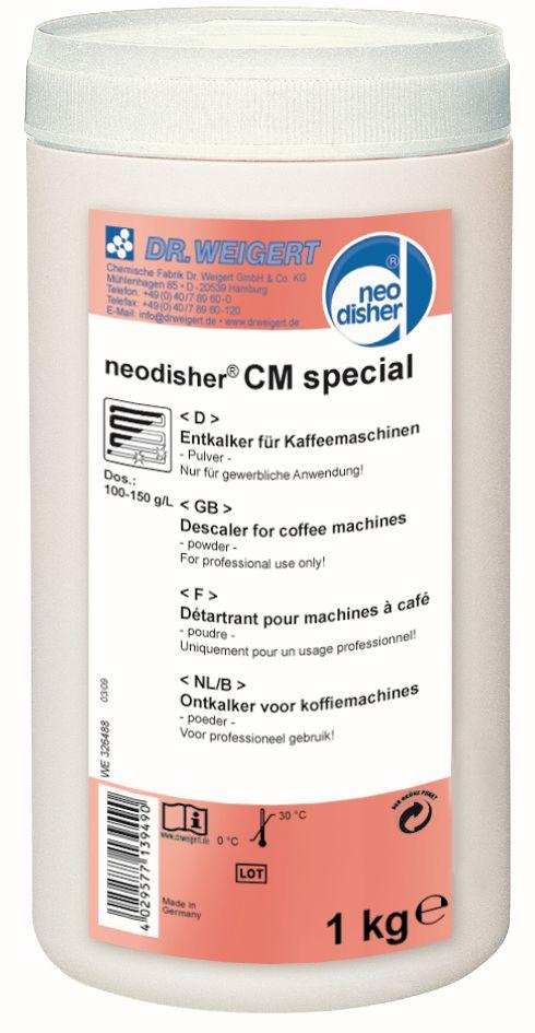 Sredstvo za uklanjanje kamenca iz aparata za kavu neodisher® CM spezial