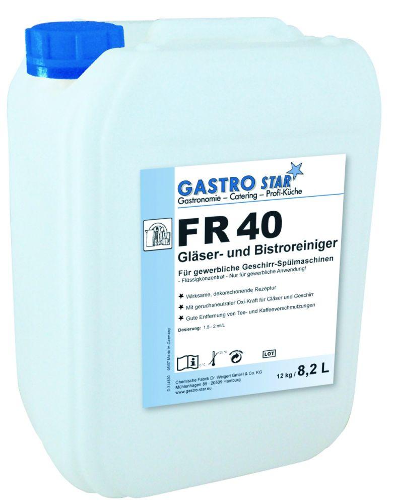 Sredstvo za pranje čaša i posuđa FR 40