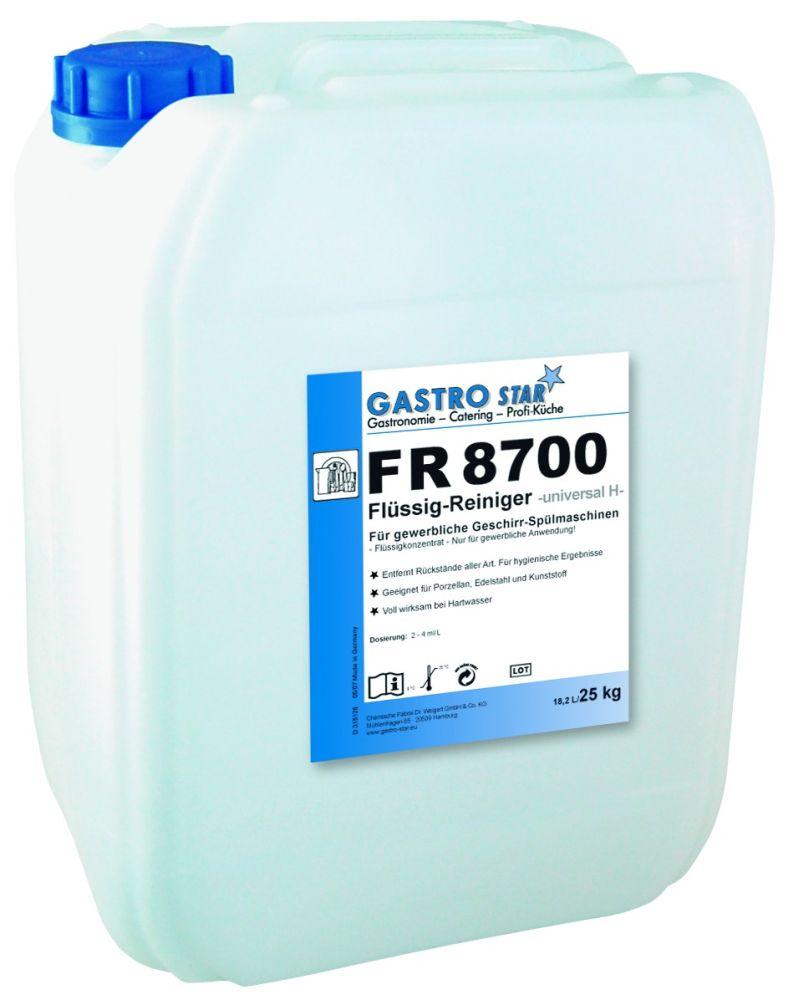 """Univerzalno higijensko sredstvo za pranje posuđa """"Plus"""" FR 8700"""