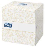 Tork kozmetičke maramice u kockastoj kutiji